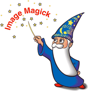 The ImageMagick logo