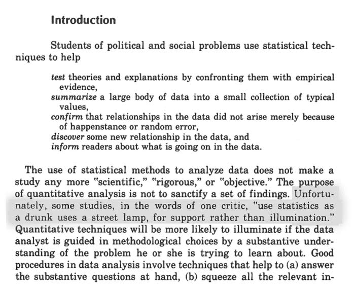 Edward Tufte's Data Analysis for Politics and Policy