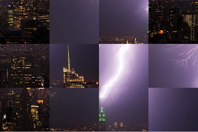 Lightning hits the ESB, shuffled